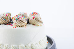 Colorful white Cake Royalty Free Stock Images