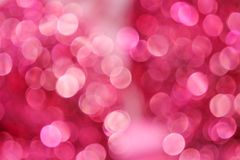 Colorful white or pink bokeh abstract patterns on background. Close up Colorful white or pink bokeh abstract patterns on background royalty free stock image