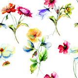Colorful wild flowers Stock Photography