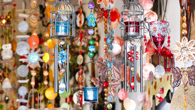 Colorful Wind chimes Royalty Free Stock Image