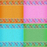 Colorful windmill card board texture Stock Photography