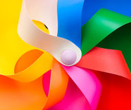 Colorful windmill royalty free stock photos