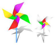 Colorful windmill toy Stock Image