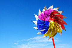 Colorful windmill toy Royalty Free Stock Image