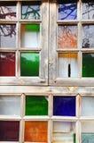 Colorful window Stock Photos