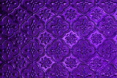 Colorful of window glass pattern background. Royalty Free Stock Photo