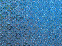Colorful of window glass pattern background stock photo