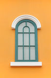 Colorful window. At the house in Thailand Stock Photo