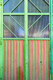 Colorful window Stock Photo