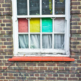 Colorful window Royalty Free Stock Photo