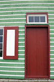 Colorful Window Shutters Stock Image