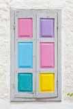 Colorful window shutters Stock Photography