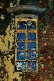 Colorful window Stock Image