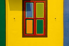 Colorful Window and Wall, Singapore Stock Photos