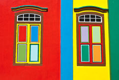 Colorful windows Royalty Free Stock Photography