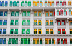 Colorful windows Stock Photos