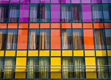 Colorful windows Stock Image