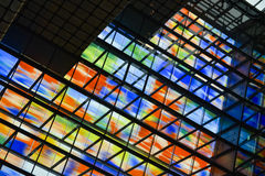Colorful windows Royalty Free Stock Image