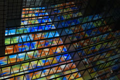 Colorful windows Stock Images