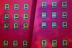 colorful windows stock photography