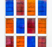 Colorful  windows. Stock Photo