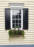 Windows and window boxes planters displays adornments enhance architecture. Colorful windows and window boxes planters displays adornments enhance architecture stock images