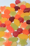 Colorful wine gums Stock Photography