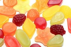 Colorful wine gums Royalty Free Stock Image