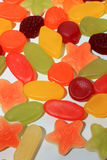 Colorful wine gums Royalty Free Stock Photography