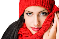 Colorful winter fashion. Royalty Free Stock Images