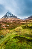 Colorful winter in Glencoe Stock Photo