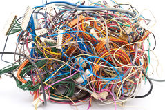 Colorful wire Stock Images