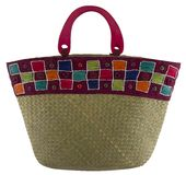 Colorful woman bag Royalty Free Stock Image