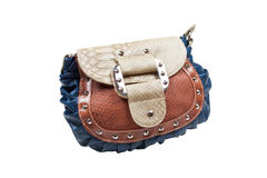 Colorful woman leather bag Stock Photo