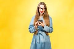 Colorful woman portrait Stock Image