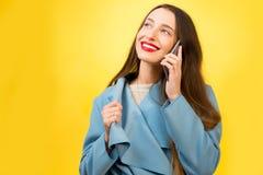 Colorful woman portrait Stock Photography