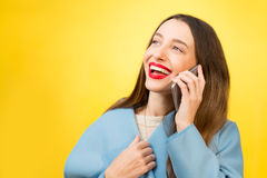 Colorful woman portrait Stock Images