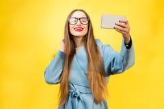 Colorful woman portrait Stock Photo