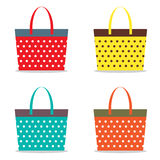 Colorful Women Bags Stock Images