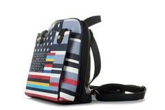 Colorful women's shoulder bag Royalty Free Stock Image