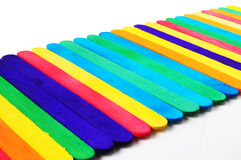 Colorful of wood Royalty Free Stock Photo