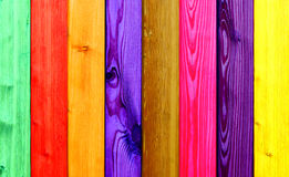 Colorful wood Royalty Free Stock Images
