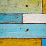 Colorful wood Stock Image