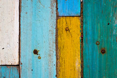 Colorful wood Stock Photos
