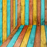 Colorful Wood Background Royalty Free Stock Images