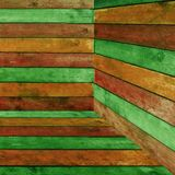Colorful Wood Background Stock Image