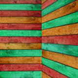 Colorful Wood Background Stock Photos