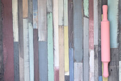 Colorful wood background Royalty Free Stock Photos