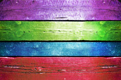 Colorful wood background. Royalty Free Stock Image