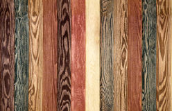 Colorful Wood Background planks. seamless brown texture floor Stock Photography